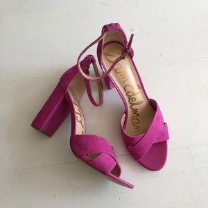 Sam Edelman Yancy Crisscross Ankle Sandals 12